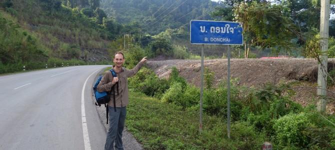 En route vers la Gibbons Experience ? (Laos)