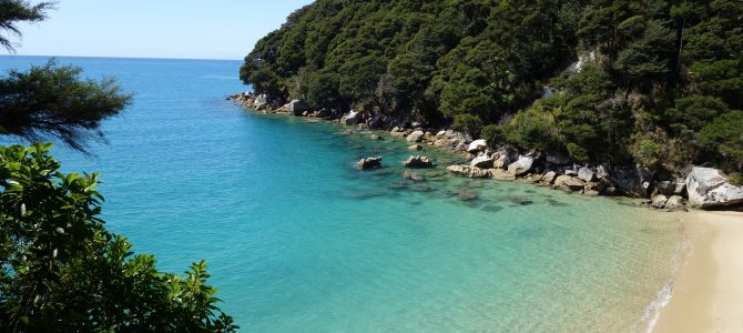 Rando carte postale à Abel Tasman – Trekking the postcard of Abel Tasman
