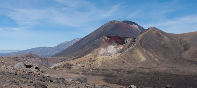 La traversée alpine du Tongariro – The Tongariro Alpine Crossing