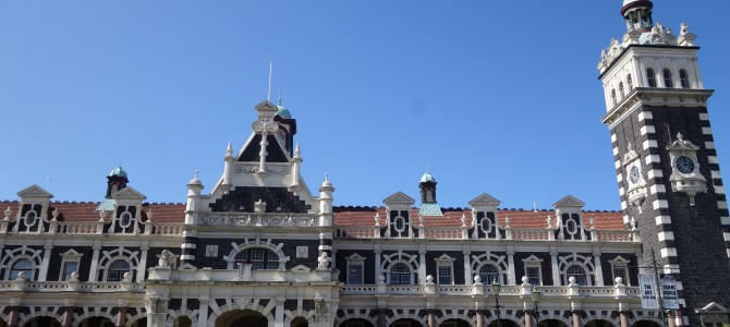 Dunedin, histoire, art et balade urbaine – Art, history and urban wander in Dunedin